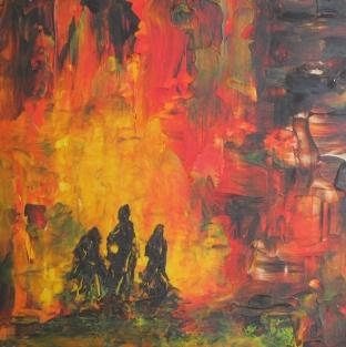 10 x 10 Acrylic on Panel