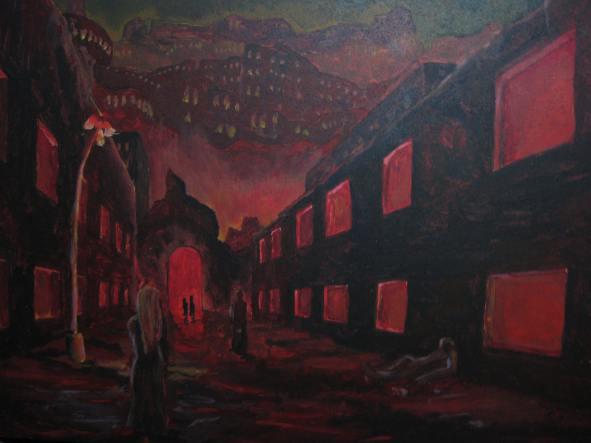 9 x 12 Acrylic on Panel