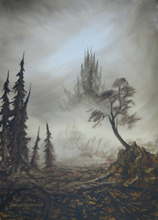30 x 42 Acrylic on Canvas