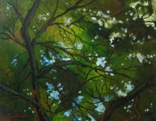 11 x 14 Acrylic on Muslin
