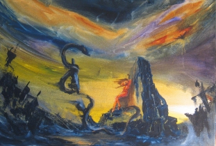 12 x 18 Acrylic on Canvas