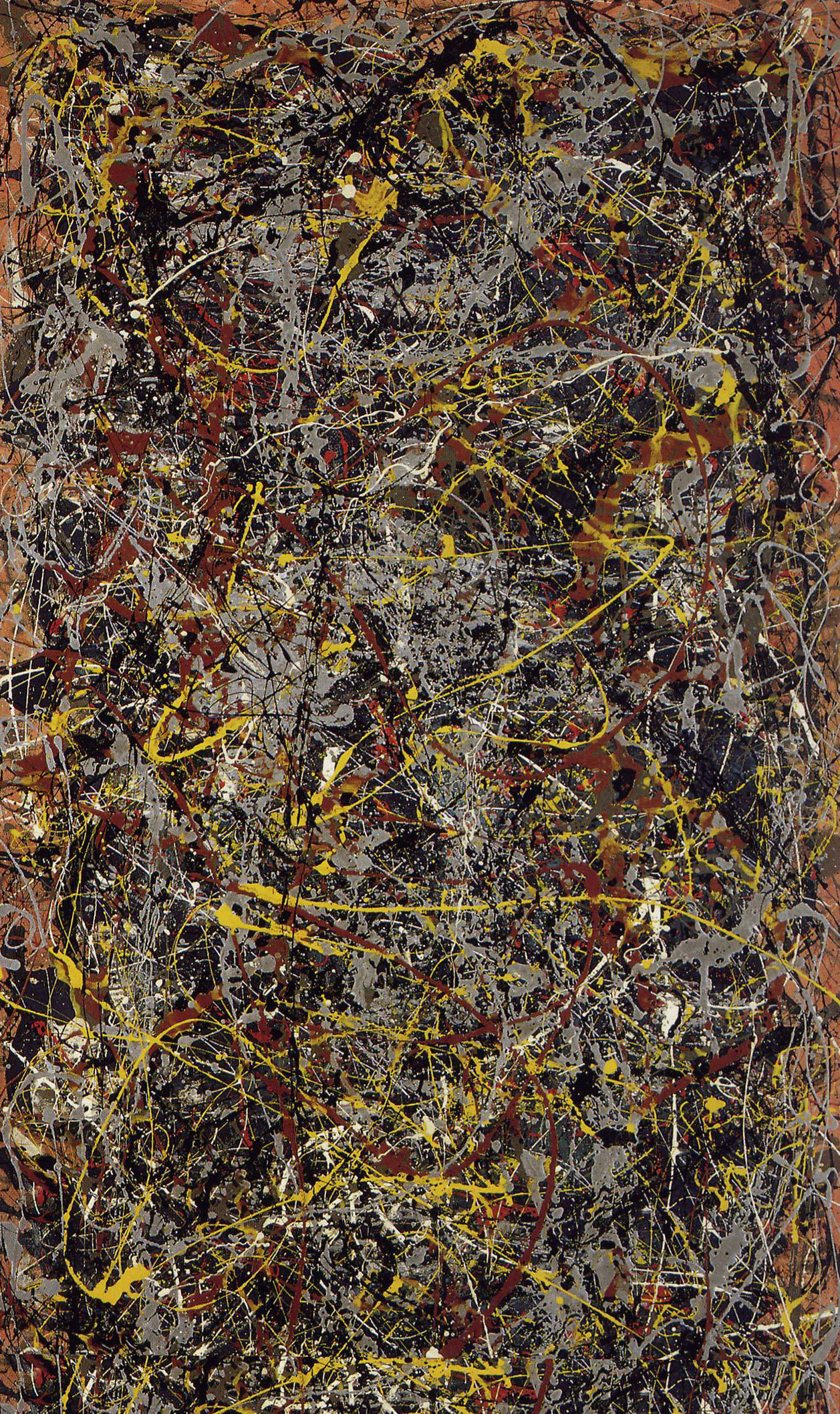 Jackson pollock tomdeanperspectives for Mural jackson pollock